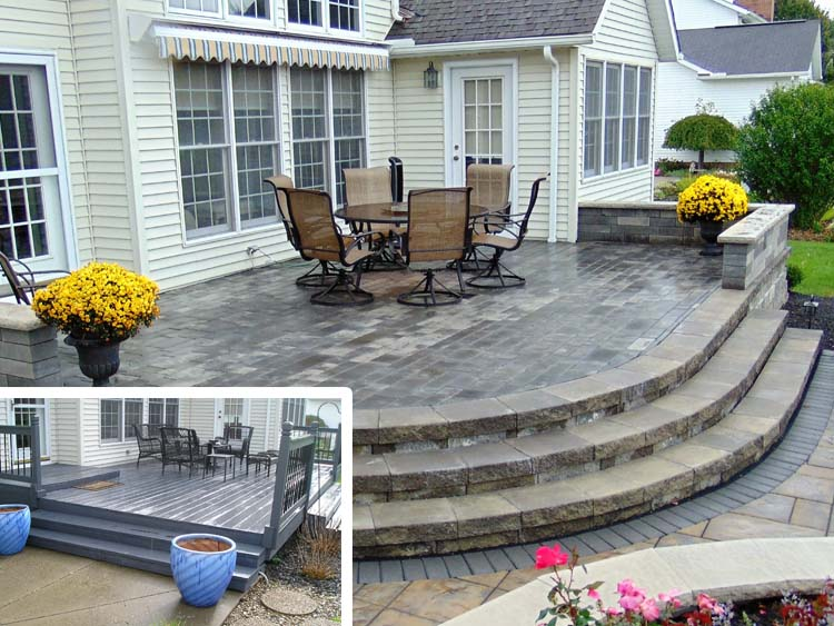 Transforming a patio to a relaxing BBQ